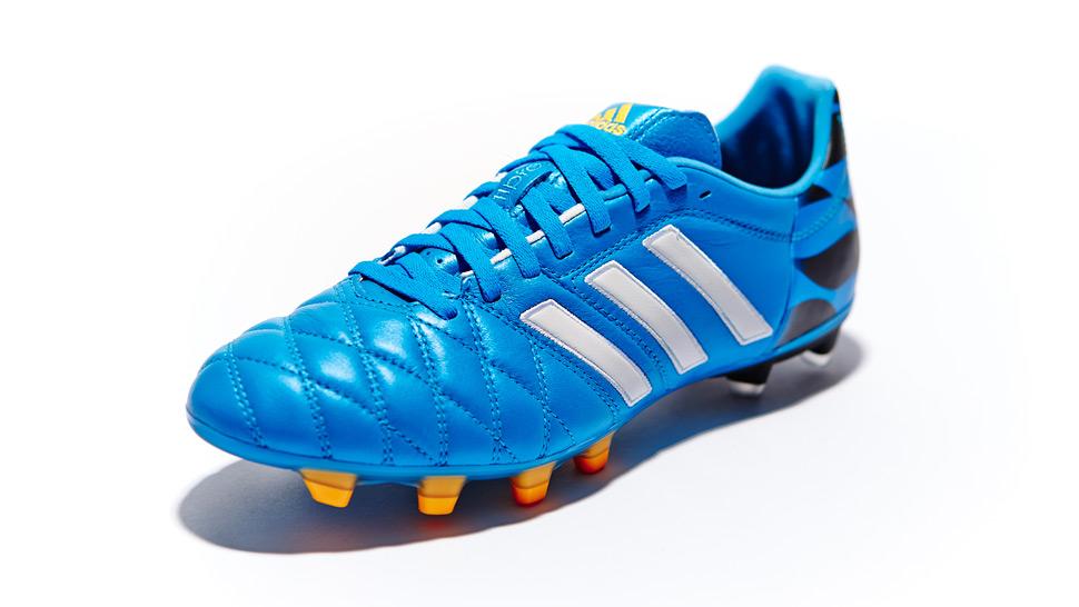 Interior Órgano digestivo fantasma  adidas adiPure 11 Pro 2 Solar Blue/Running White/Black | Volky Football  Boots