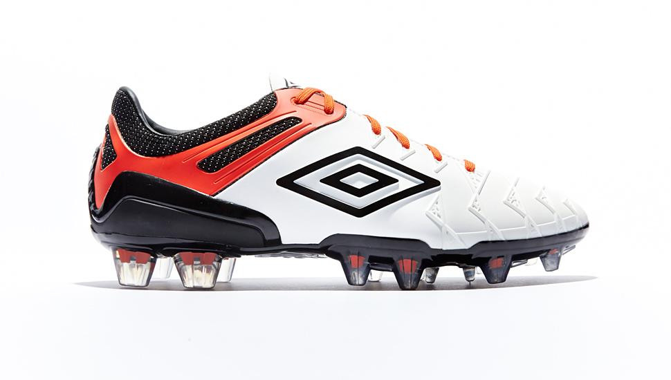 0c2c74768 Umbro UX-1 White/Black/Cherry Tomato | Volky Football Boots