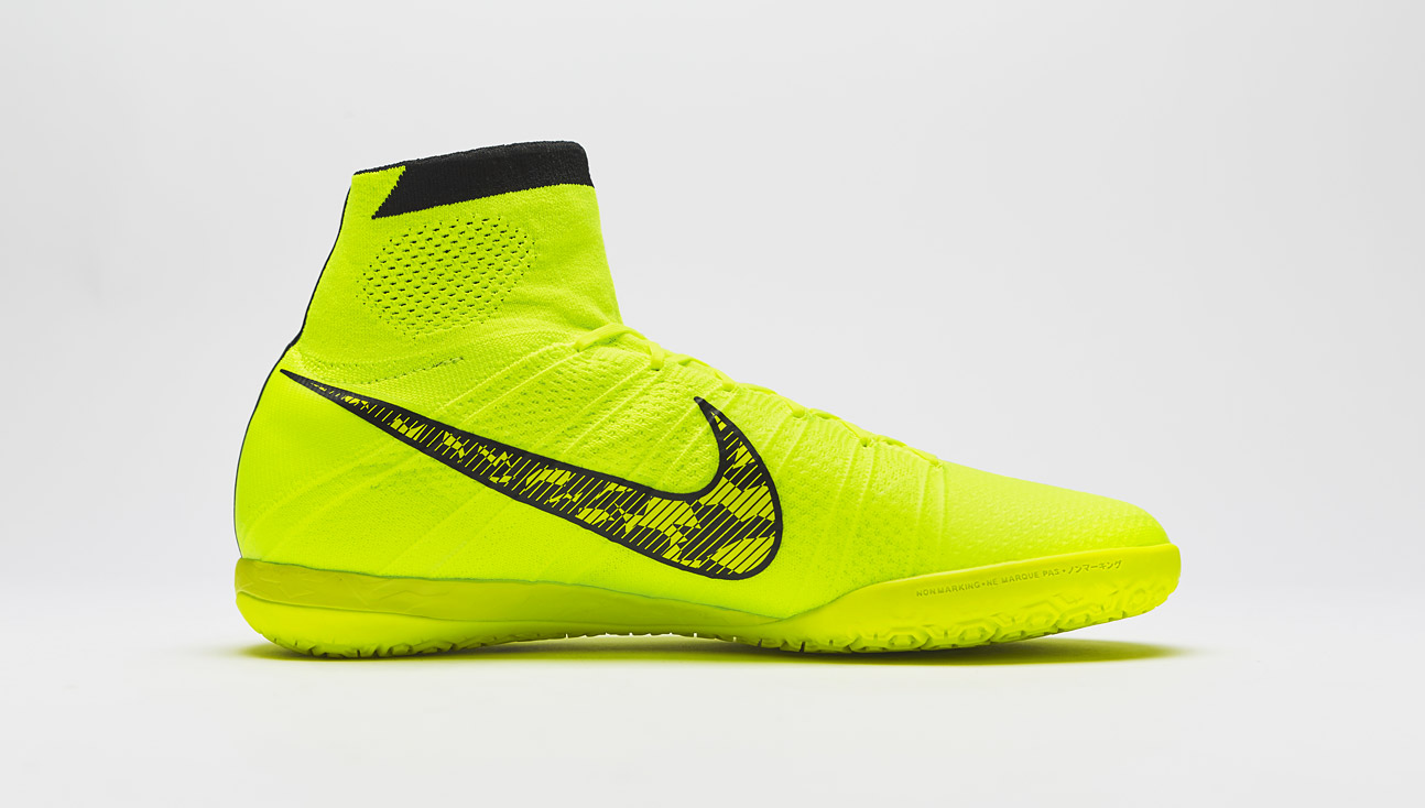 nike elastico superfly volt black flash lime volky football boots. Black Bedroom Furniture Sets. Home Design Ideas