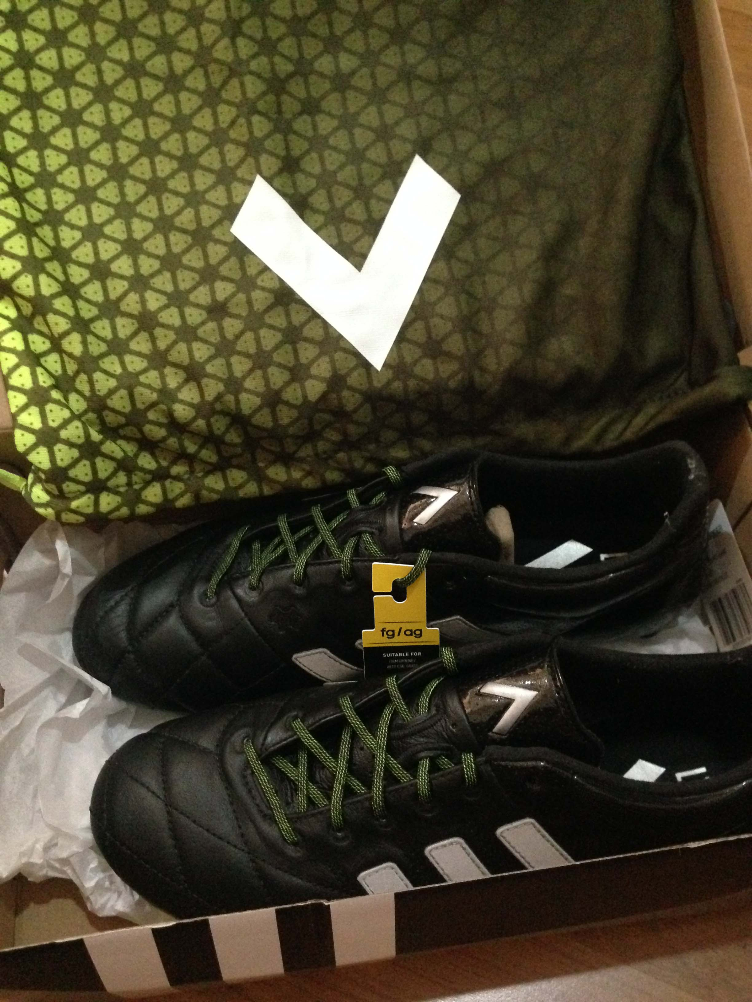 adidas ACE15.1 Leather Review by Bjay Volky fotballsko  Volky Football Boots