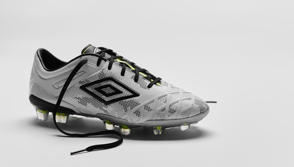 3cc8b6080 Umbro UX-2 White/Black/Safety Yellow | Volky Football Boots