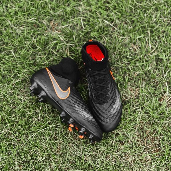 detailed look a73da 1107d Magista Obra II สีนี้จะประกอบไปด้วยสีหลักคือสีดำแทบทั่วทั้งตัวรองเท้า  แต่ยังคงไว้ซึ่งดีไซน์ heatmap ...